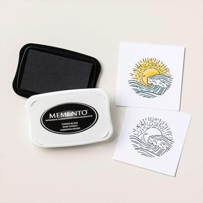 Memento Stempelkissen Smoking-Schwarz