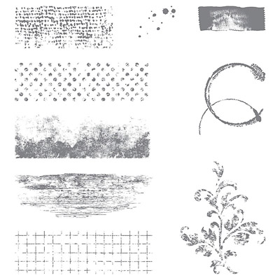 Stempelset Transparent Timeless Textures
