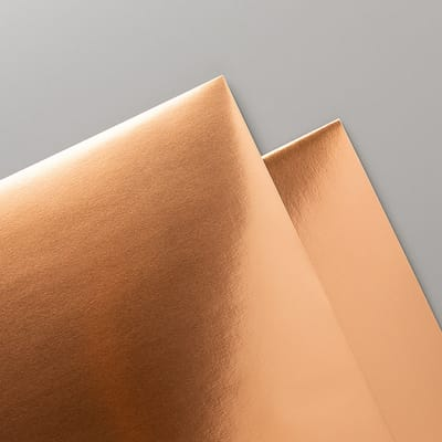 Folienpapier In Kupfer