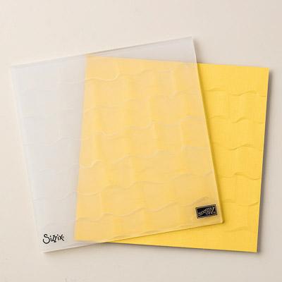Textured Impressions Tiefen-Prägeform Rüschen