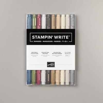 Stampin' Write Marker Kollektion Neutralfarben