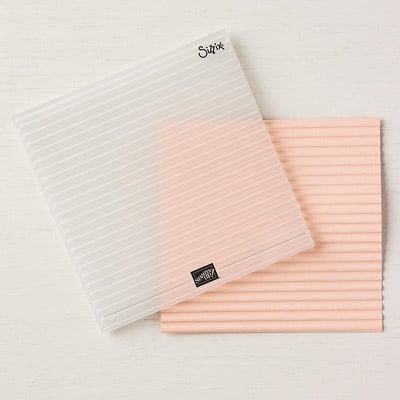 Textured Impressions Prägeform Wellpapier