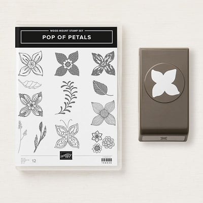 Produktpaket Pop Of Petals (Holzblöcken; En)