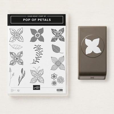 Produktpaket Pop Of Petals (Für Transparente Blöcke; En)