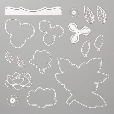 Stanzformen Magnolienblüten
