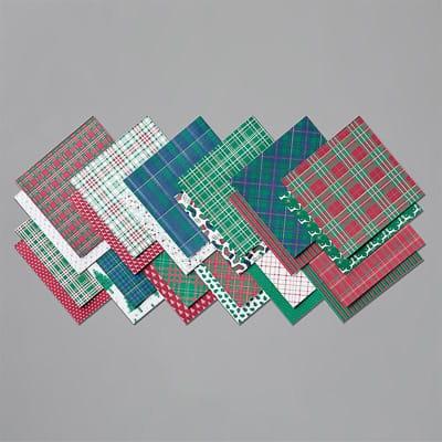 Besonderes Designerpapier Festliche Karos 6'' X 6'' (15,2 X 15,2 Cm)