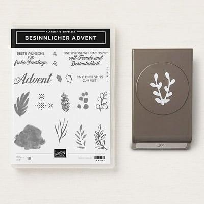 Produktpaket Besinnlicher Advent (Klarsichtstempel)