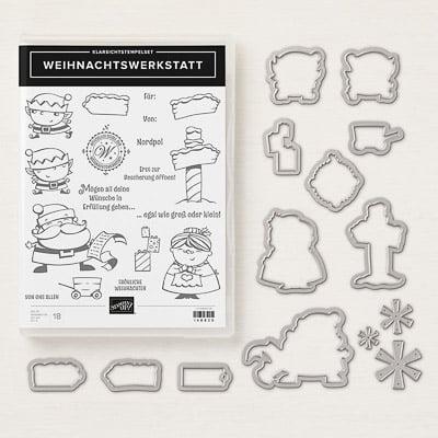 Produktpaket Weihnachtswerkstatt (Klarsichtstempel)