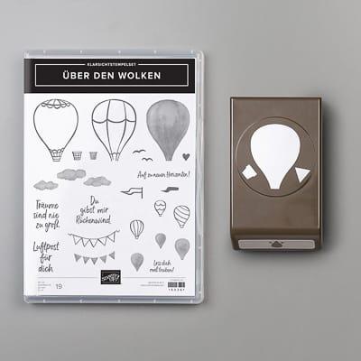 Produktpaket Über Den Wolken (Klarsichstempel)