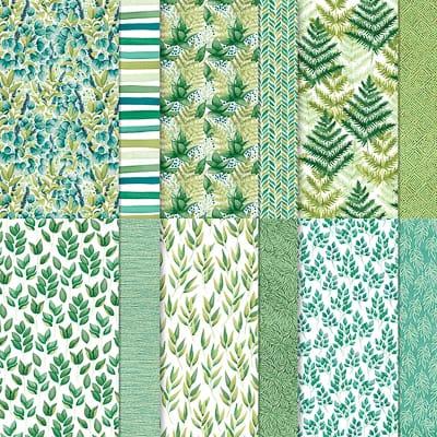 Designerpapier Ewiges Grün