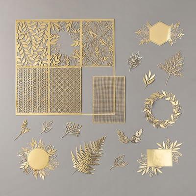 Lasergeschnittenes Spezialpapier Ewiges Gold