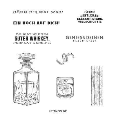 Stempelset Ablösbar Wie Ein Guter Whiskey (Deutsch)