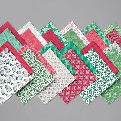 Designerpapier 6'' X 6'' (15,2 X 15,2 Cm) So Weihnachtlich