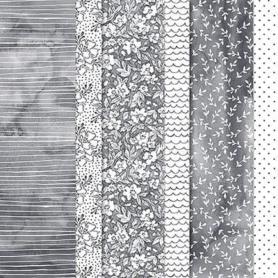 Designerpapier 12X12'' Geschmackvoll Gemalt
